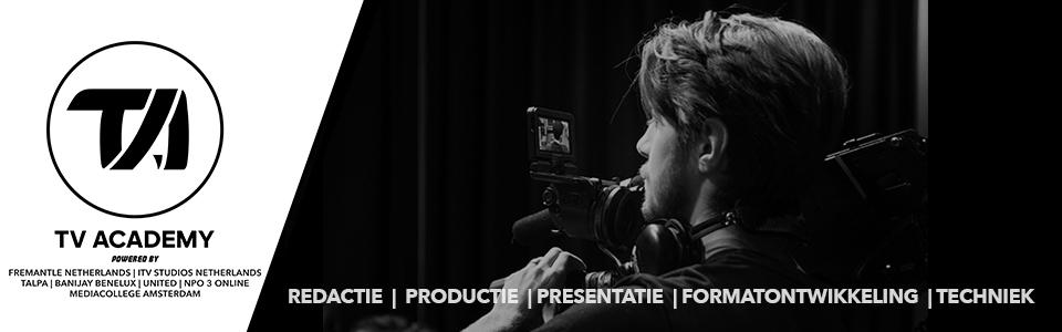Disciplines - redactie, productie, presentatie, techniek en formatontwikkeling